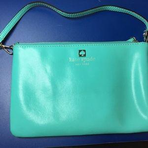 Kate Spade Teal Turquoise Wristlet Wallet